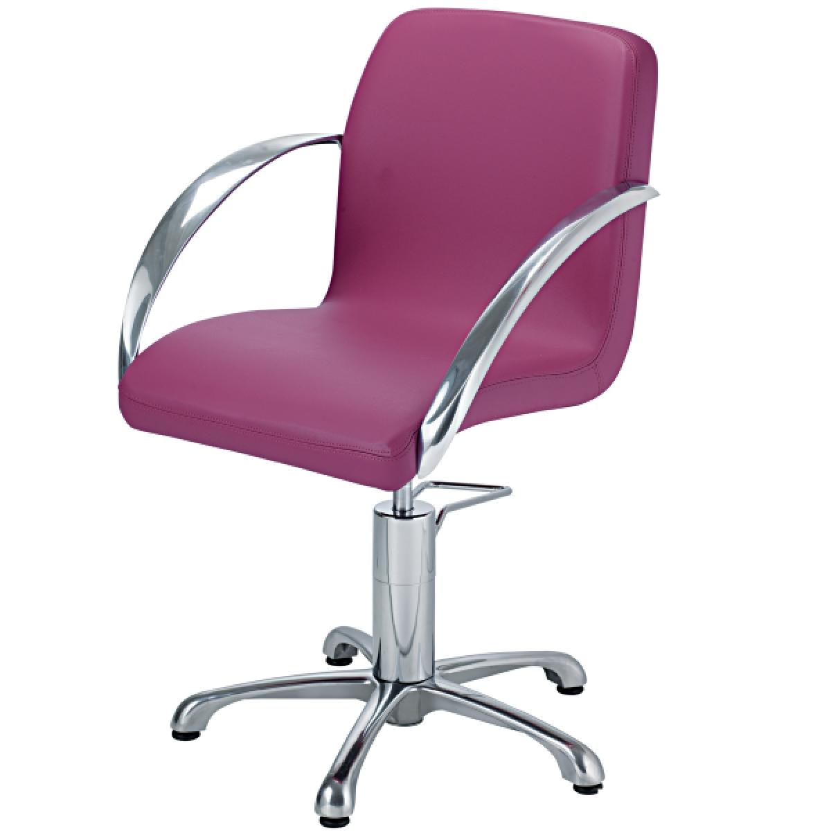 Ceriotti glorgia stylist chair regal hair salon supply for Colored salon chairs