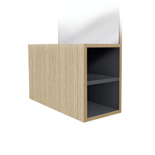 Regal Salon Furniture's Ceriotti Box Mirror