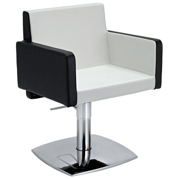 Ceriotti eva stylist chair regal hair salon supply for Colored salon chairs